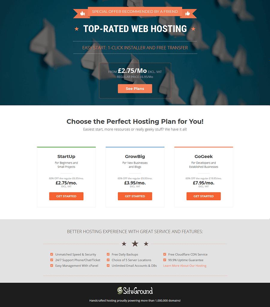 Pet Business Website Hosting