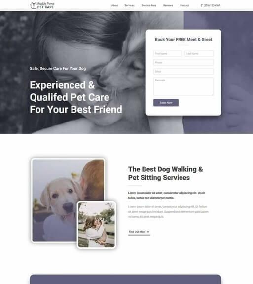 Wordpress Pet Website Templates